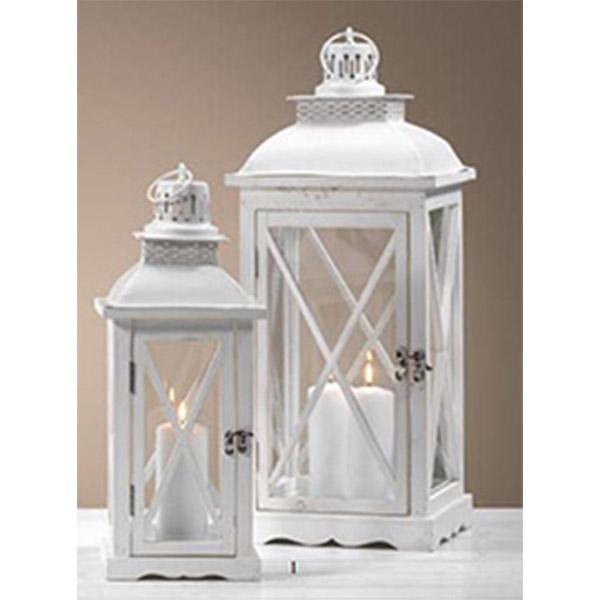 lanterne bianche set 2 pz ingrosso articoli per la